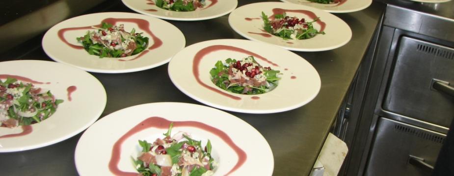 Salad essembly