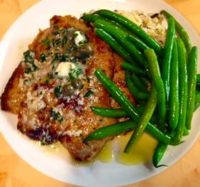 Plate of Veal Picatta